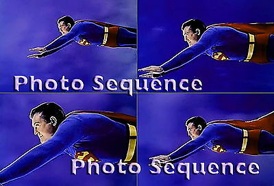 SUPERMAN GEORGE REEVES PHOTO Sequence #03
