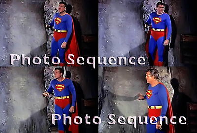 SUPERMAN GEORGE REEVES Photo Sequence #14