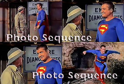 SUPERMAN GEORGE REEVES Photo Sequence #16