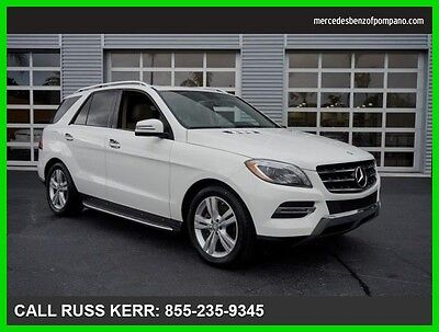 2015 Mercedes-Benz M-Class ML350 AWD Certified Premium Keyless Camera Navi 2015 ML350 Certified All Wheel Drive Premium We Finance and assist with Shipping