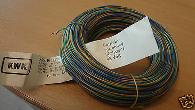 15 Meter 4 Colour Model Railway Wire/cable