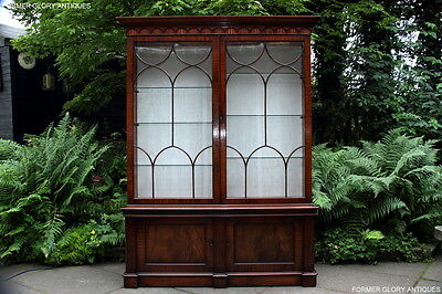 Bevan Funnell Style Mahogany China Glass Display Cabinet Sideboard Dresser Stand