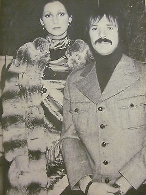 Sonny and Cher, Full Page Vintage Pinup