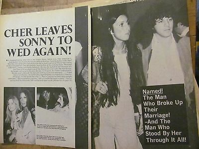 Cher, Six Page Vintage Clipping