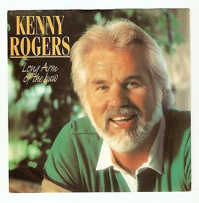 """Kenny Rogers - Long arm of the law Bw You were a good friend   7"""" 1980 A1/B1"""