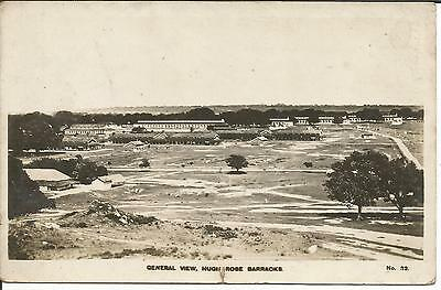 One Penny Arcade A Vintage RP Hugh Rose Barracks,Jubbulpore.India Card