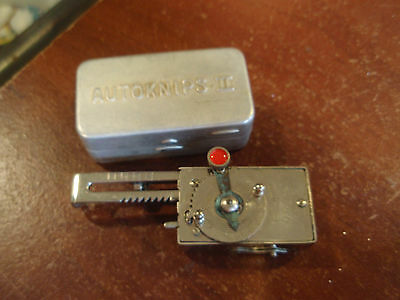 Vintage Autoknips II Camera Self Timer with Case Germany  WORKS!
