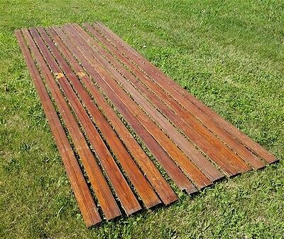 Lot of 12' Wainscot Wood Lumber Trim Reclaimed Pine Lumber Arts Crafts Cabinet