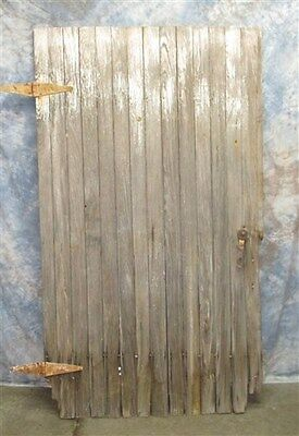 Vintage Wood Barn Door Reclaimed Lumber Architectural Salvage Hardware Siding ag
