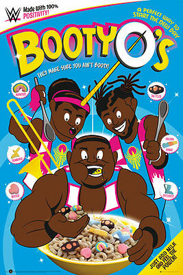 Booty O's Poster - BOOTY O'S CEREAL - New wrestling poster SP1366