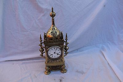 antique french brass  clock bell striker