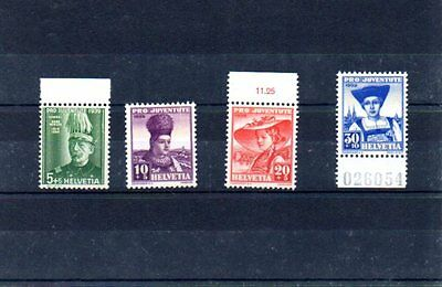 MNH Switzerland, good set of Pro Juventute, see text + picture please