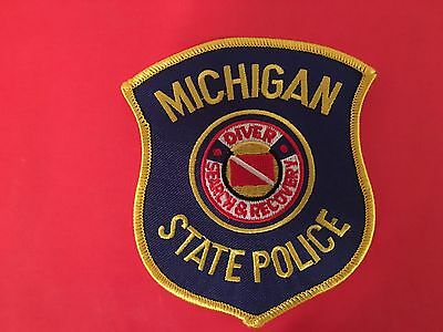 Michigan State Police Diver Search & Recovery  Patch