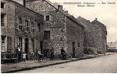 CPA 08- FROMELENNES Ardennes- rue Linard- Maison Misson