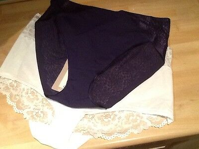 New Ladies M And S Knickers, Size 14.