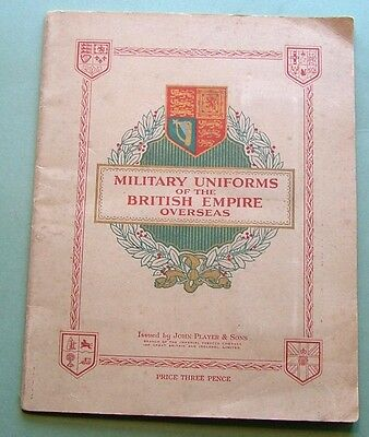 Players 1938 - Military Uniforms Of British Empire Overseas - Full Set - Vg.cond