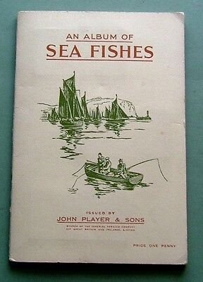 Players 1935 - Sea Fishes - Full Set Of 50 In Album - Excellent Condition