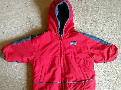 Nike Age 3-6 months Red Padded Winter Coat Jacket 62-68cm
