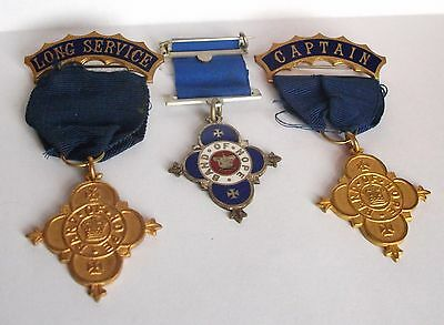 Vintage Band of Hope Temperance Society Medals In Great Order