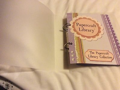 MY CRAFT STUDIO  PAPERCRAFT LIBRARY STORAGE FILE AND 3 CDs Voll 11,12 Snuffles