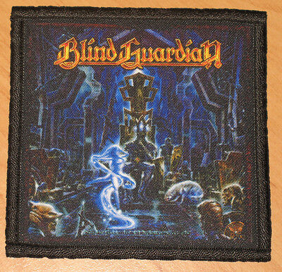 """BLIND GUARDIAN """"NIGHTFALL IN MIDDLE-EARTH"""" silk screen PATCH"""