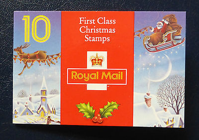 Gb Stamp Booklet Lx4 :: Xmas 1993
