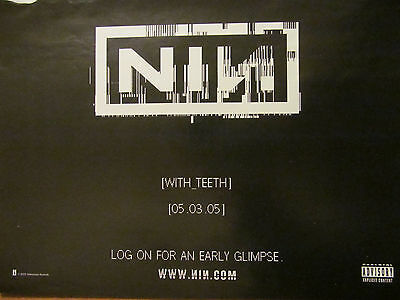Nine Inch Nails, With Teeth, Full Page Promotional Ad