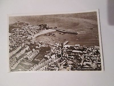 Postcard of St Ives, Cornwall (Unposted Air Photograph)