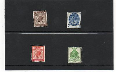 (A130) George V Puc Short Set Mint Mnh Much More Listed