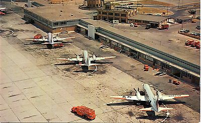 Buffalo Municipal Airport - American Airlines Convair 240 - Postcard View
