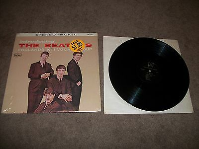 The Beatles Introducing The Beatles Record Vee-Jay Sr-1062 Nr Mint