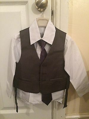 Boys 3 Piece Suit Age 2 *never Been Worn*