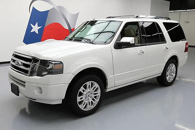 2011 Ford Expedition Limited Sport Utility 4-Door 2011 FORD EXPEDITION LTD LEATHER SUNROOF NAV 20'S 48K #F08060 Texas Direct Auto