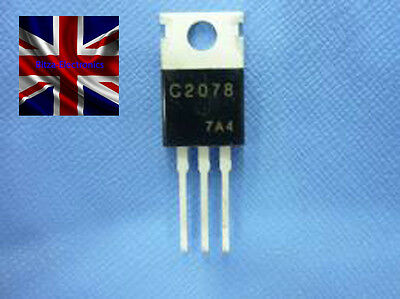 2SC2078 C2078 RF Power Amplifier CB Radio Output Transistor TO-220 UK Seller