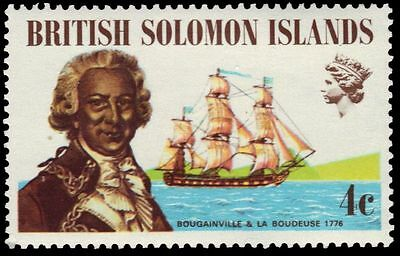 SOLOMON ISLANDS 228 (SG215) - Louis Antoine de Bougainville (pa82820)