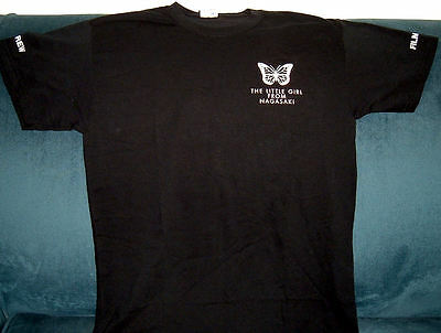 Girl From Nagasaki~2014 Movie Based On Madame Butterfly~Rare Film Crew T-Shirt