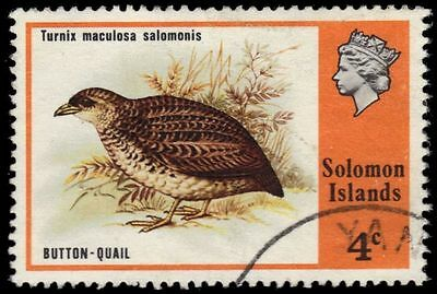 "SOLOMON ISLANDS 319 (SG308) - Button Quail ""Turnix maculosa"" (pa82829)"