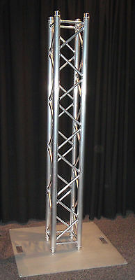 2.5m box truss upright stand - suitable as a lighting or plasma stand