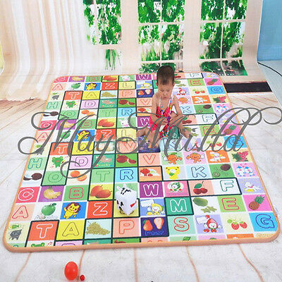 English Language Learning and Teaching Musical Baby Blanket Kid Crawl Play Mat