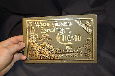 Rare Worlds Columbian 1893 expo Chicago hardback pictorial no reserve must see