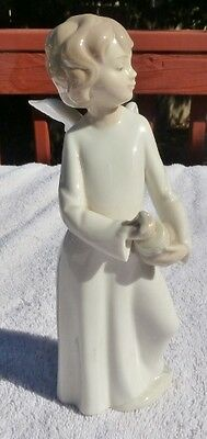 Nao by Lladro Angel with Butter Churn  Spain,