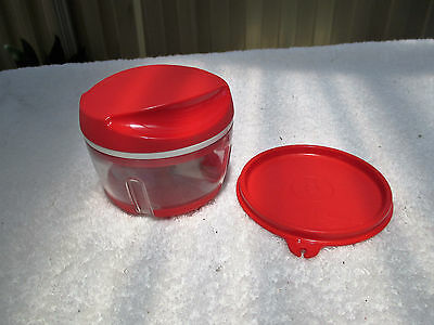Red Tupperware Happy Chopper With Lid