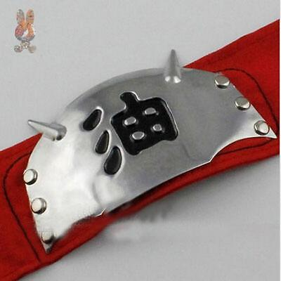 Hot New Naruto Jiraiya Headband Cosplay Headband Gama Sennin Japan Anime Red A
