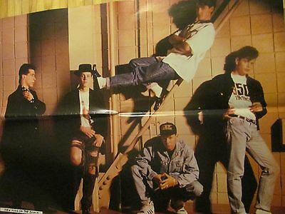 New Kids on the Block, Donnie Wahlberg, Double Four Page Foldout Poster