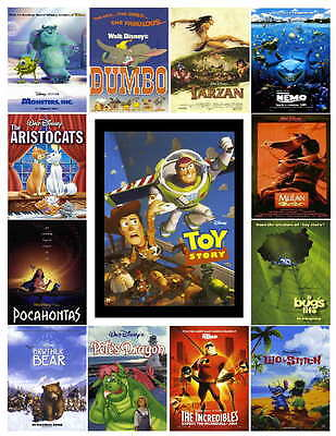 Disney Movies Photo-Fridge Magnets  (13) Images