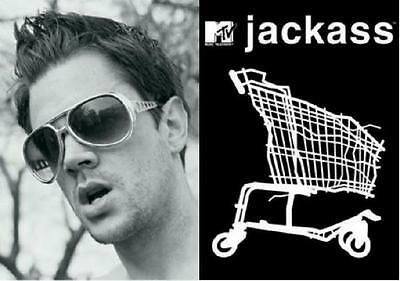 Jackass TV Show Johnny Knoxville - 2 Postcards