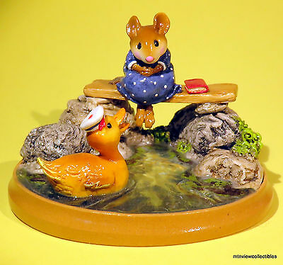Wee Forest Folk PM-4 Just Ducky -Retired in 2004-NEW