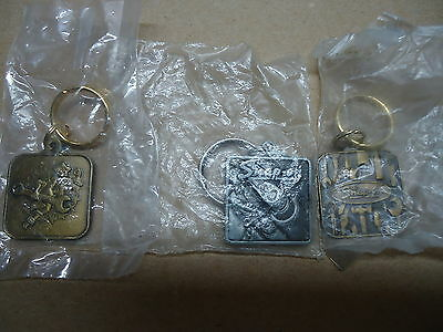 Snap On Tools lot of 3 different keychains