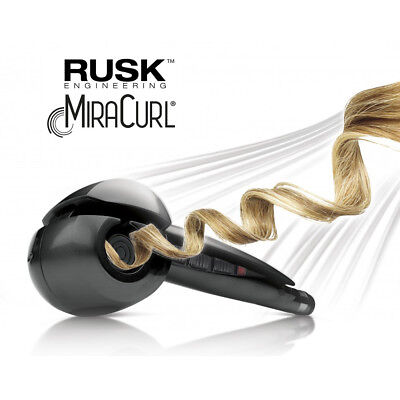 Rusk MiraCurl Hair Curler Professional Ceramic Curl Chamber Original New in Box
