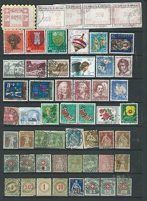 Switzerland Lot 1 good range of stamps as per scan inc early items [1145]REDUCED